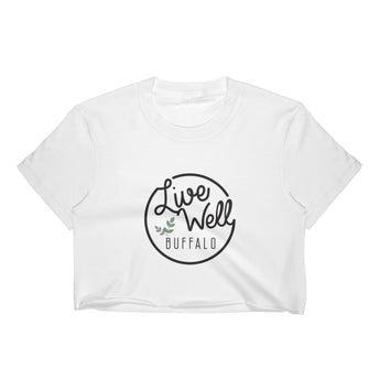 Live Well Buffalo Women's Crop Top