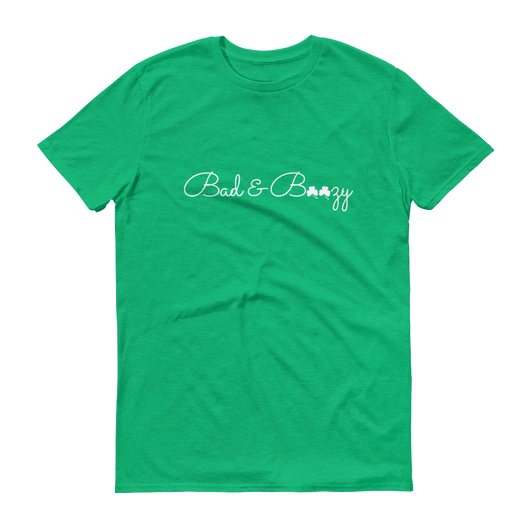 Bad & Boozy Green Short-Sleeve T-Shirt