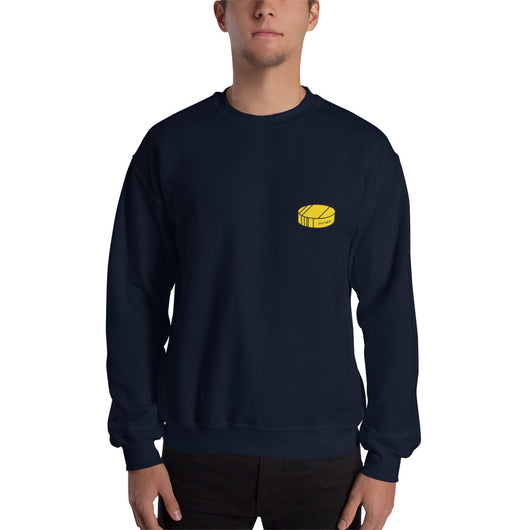 Let's Go Buffalo Puck Sweatshirt