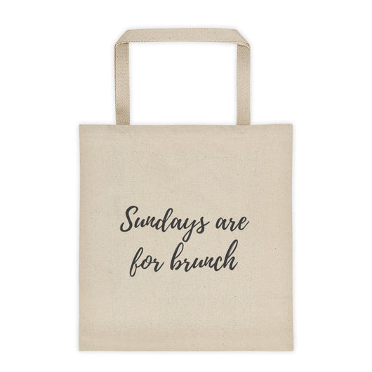 Sundays are for brunch Tote bag