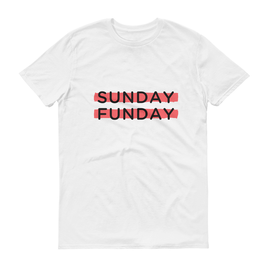 Sunday Funday Highlighter Short-Sleeve T-Shirt