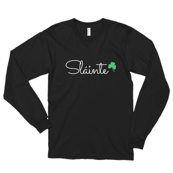 Slainte Long sleeve t-shirt (unisex)