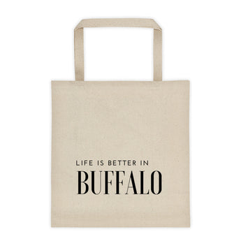 Life is Better in Buffalo Tote bag
