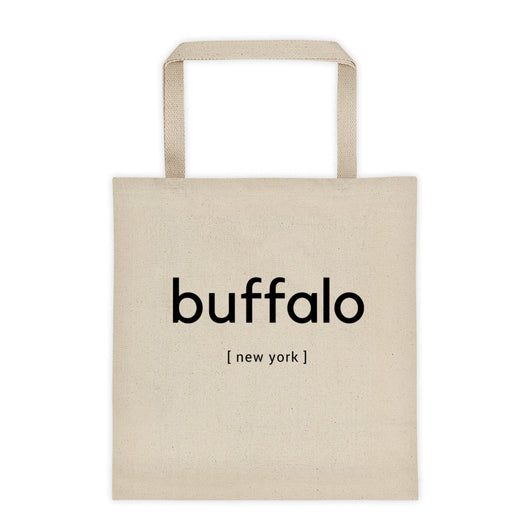 buffalo [new york] Tote