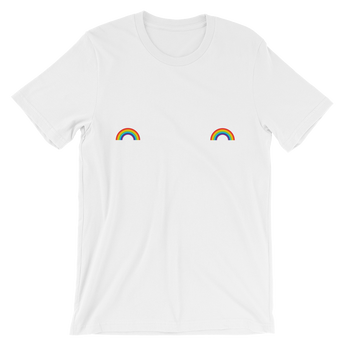 Rainbow Tatas Short-Sleeve T-Shirt