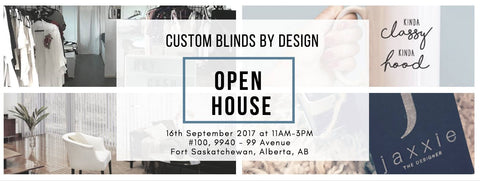 Grand Opening Custom Blinds by Design