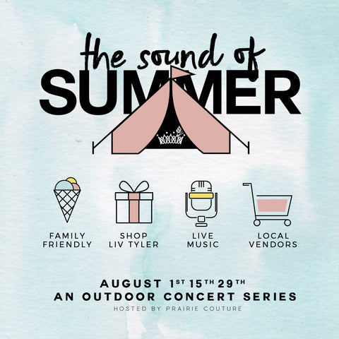 The Sound of Summer Outdoor Music Series with Prairie Couture
