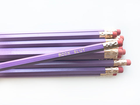 Book Slut Pencil Set