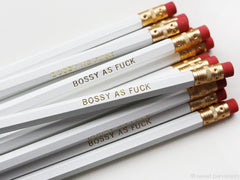 Bossy As Fuck Pencil Set