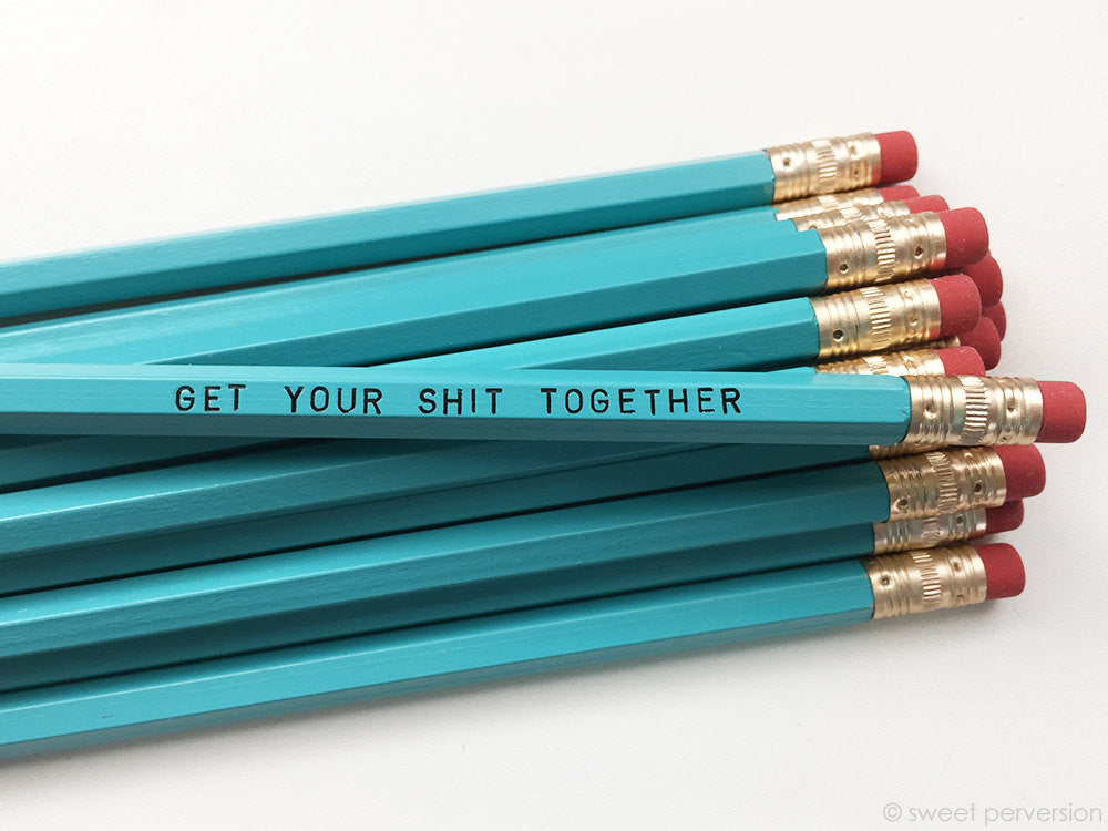 Get Your Shit Together Pencil Set