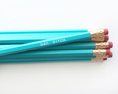 Nah, Bitch Pencil Set