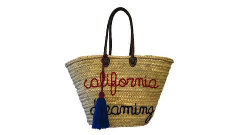 California Dreaming, Straw Tote