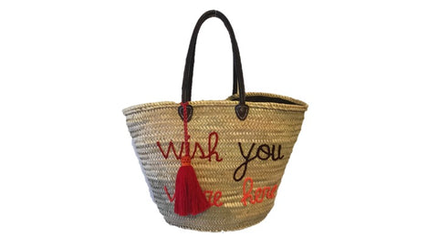 Wish You Were Here, Straw Tote