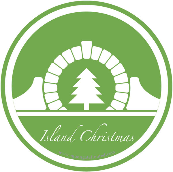 Island Christmas Travel Tin
