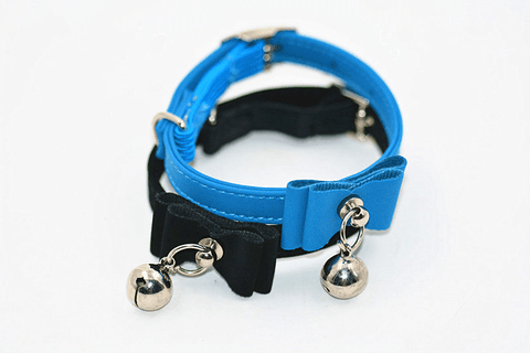 Image of Cat Bow Tie Collar Jingle Bell Collar - Home & Garden, Furniture / Pet Products / Dog Supplies