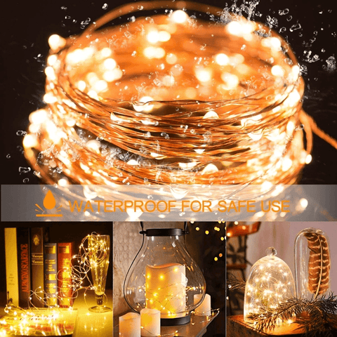 Image of Fairy Lights String Lights For Indoors Outdoors Christmas Decoration (3 Types: USB, AA Battery and CR2032 Battery) - Home Improvement / Outdoor Lighting / String Lights