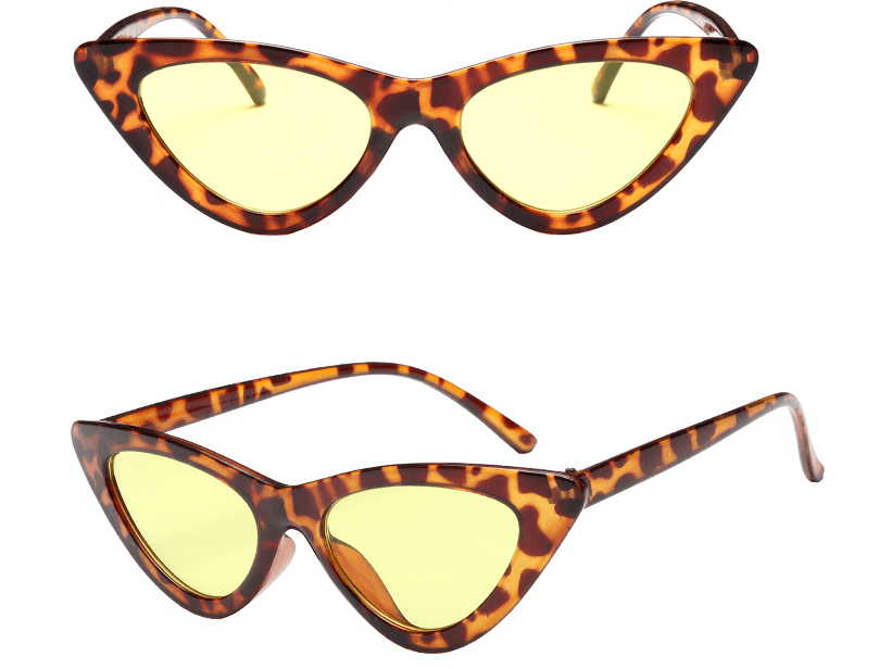 Triangle Cat Eye Sunglasses - Women's Clothing / Accessories / Eyewear & Accessories