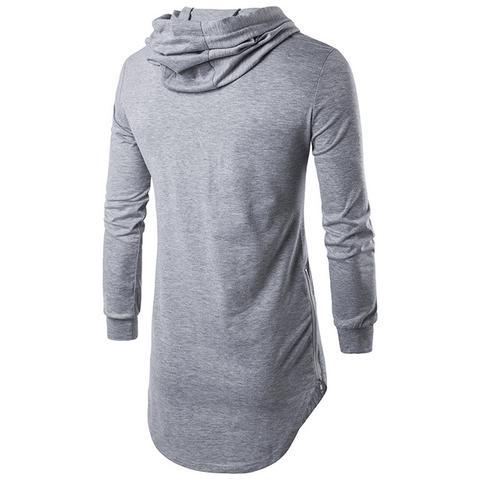 Image of MEN'S HOODED T-SHIRT - Men's Clothing / Outerwear & Jackets / Hoodies & Sweatshirts