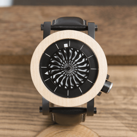 Image of Wooden Watches Mechanical Watches For Men - Jewelry & Watches / Men's Watches / Quartz Watches