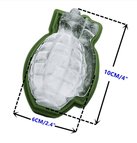 Image of 3D Skull Ice Cubes Molds - Home & Garden, Furniture / Kitchen, Dining & Bar / Drinkware