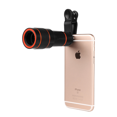 Image of Mobile Phone Lens Long Focal HD 8X 12X Lens - Phones & Accessories / Mobile Phone Accessories / Lenses