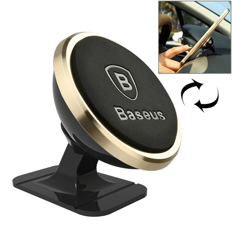 Magnetic Car Phone Holder For iPhone 360 Rotation - Phones & Accessories / Mobile Phone Accessories / Holders & Stands