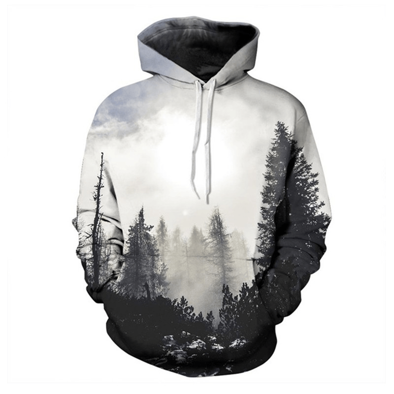 Unique Stylish Graphic Hoodies For Men Women Boys 3D Printed Winter Hoodies - Men's Clothing / Outerwear & Jackets / Hoodies & Sweatshirts