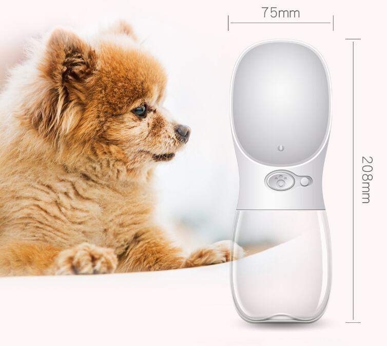 BPA Free Portable Dog Water Bottle for Walking Dog - Pet Products/Dog Supplies