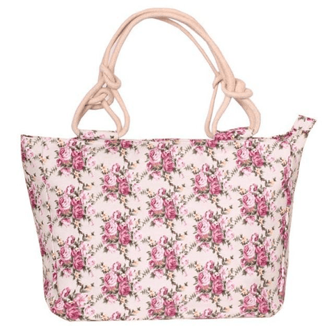 Image of Floral Bag Canvas Graffiti Tote Handbag For Women - Shoulder Bags