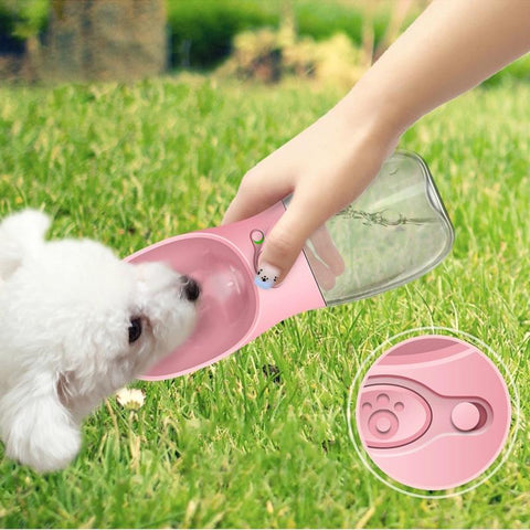 Image of BPA Free Portable Dog Water Bottle for Walking Dog - Pet Products/Dog Supplies