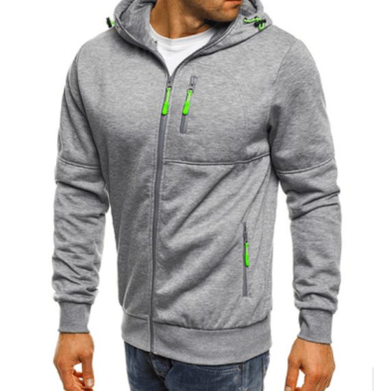 New Cotton Hoodie Jacket For Men - Men's Clothing / Outerwear & Jackets / Hoodies & Sweatshirts