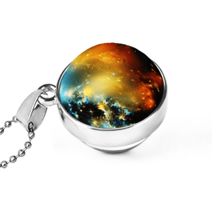 Cosmic Galaxy Glass Pendant - Jewelry & Watches / Fashion Jewelry / Bracelets & Bangles