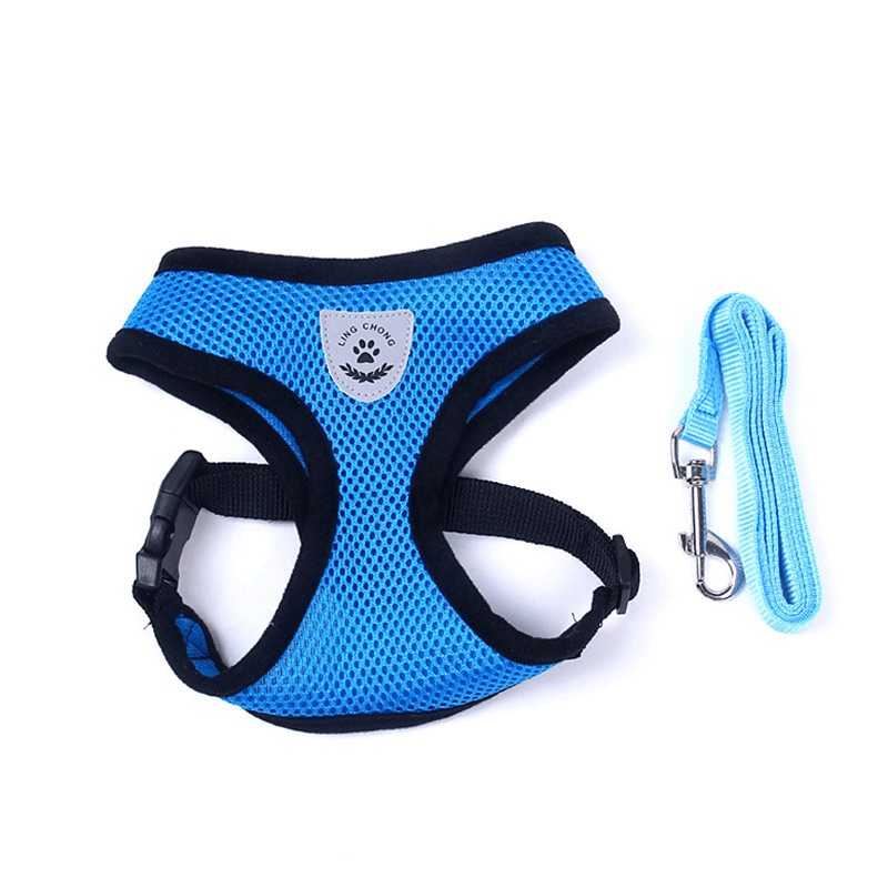 Dog Harness Vest Dog Chest Harness And Dog Leash Set - Home & Garden, Furniture / Pet Products / Dog Supplies