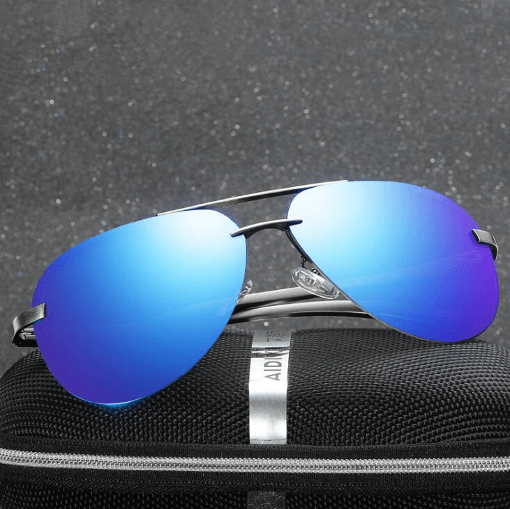 Polarized Mirror Sunglasses - Men's Clothing / Accessories / Prescription Glasses