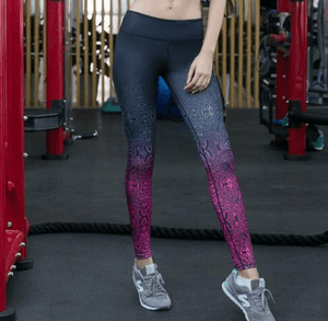 Elastic Sport Leggings Yoga Pants For Women