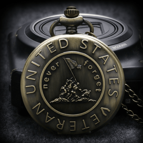 Image of U.S Veteran Pocket Watches - Jewelry & Watches / Men's Watches / Quartz Watches