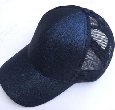 Glitter Ponytail Cap Baseball Caps For Women - Women's Clothing / Accessories / Hats & Caps