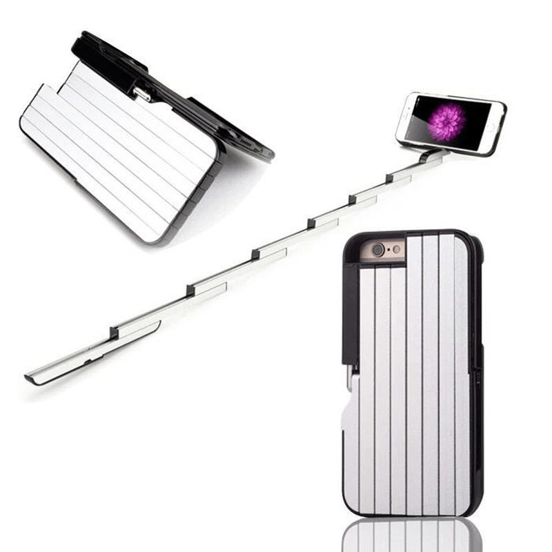 Self-timer Retractable Aluminum Selfie-stick Phone Case - Phones & Accessories / Cases & Covers / Patterned Cases