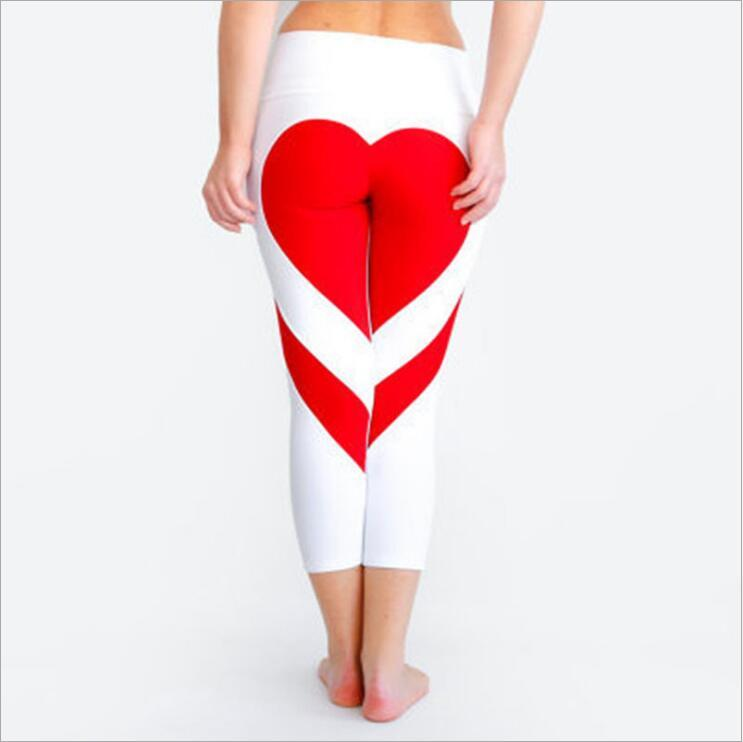 Pretty Love Art Yoga Pants Gym Leggings Sportswear For Women - Women's Clothing/Bottoms/Leggings