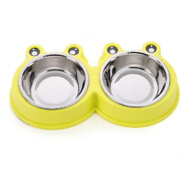 Image of 2 in 1 Dog Bowls Pet Bowls For Water & Food Storage - Pet Products/Dog Supplies