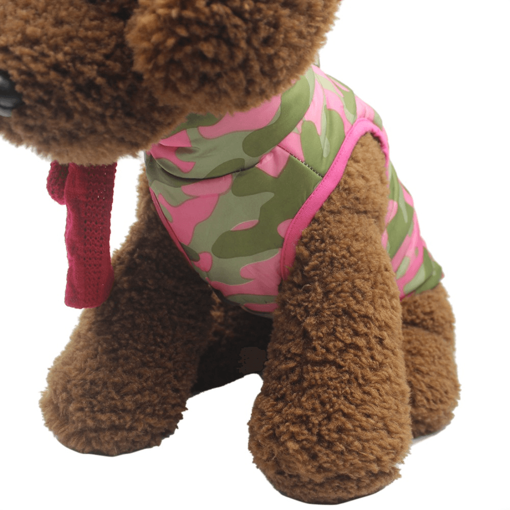 Dog Winter Jacket With Buckle - Home & Garden, Furniture / Pet Products / Dog Clothing & Shoes