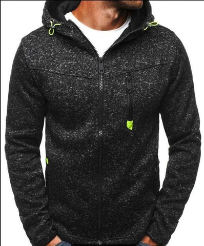 Image of Men's Stitching Hoodies - Men's Clothing / Outerwear & Jackets / Hoodies & Sweatshirts