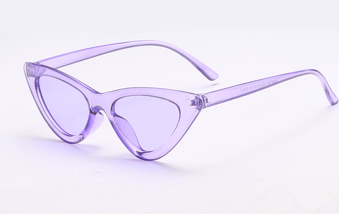 Image of Triangle Cat Eye Sunglasses - Women's Clothing / Accessories / Eyewear & Accessories