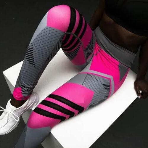 Reflective Sport Yoga Pants Women Fitness Gym Leggings - Women's Clothing/Bottoms/Leggings
