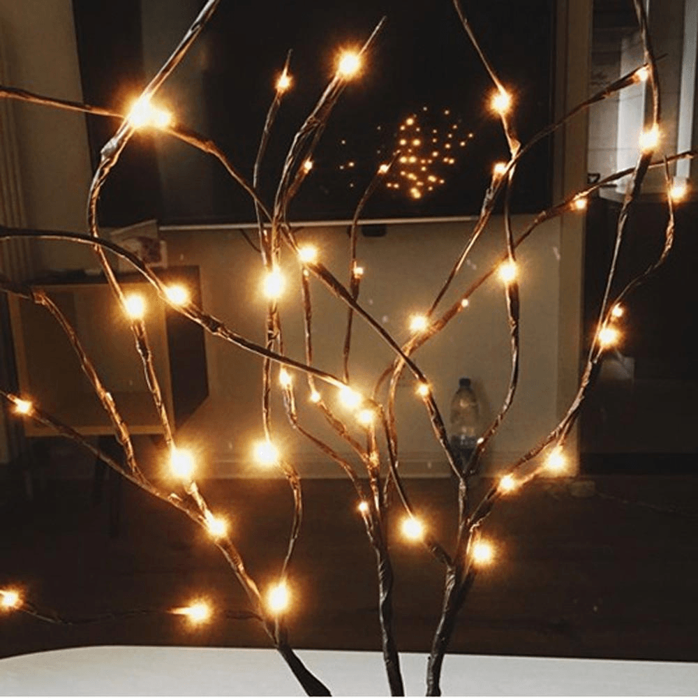 LED Christmas Willow String Lights - Home & Garden, Furniture / Festive & Party Supplies / Christmas Decoration Supplies
