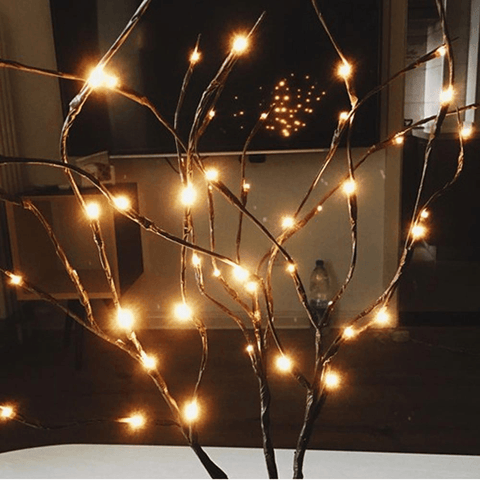 Image of LED Christmas Willow String Lights - Home & Garden, Furniture / Festive & Party Supplies / Christmas Decoration Supplies