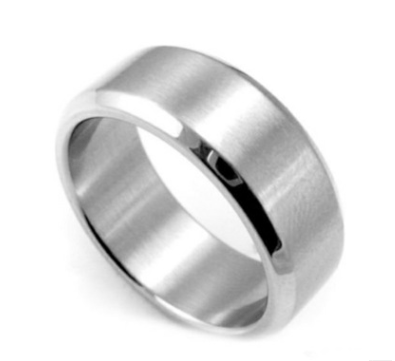 Solid Titanium Stainless Steel Ring For Men Women - Jewelry & Watches / Fashion Jewelry / Rings