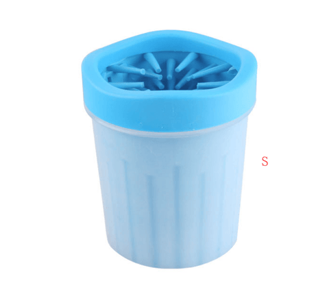 Image of Silicone Dog Paw Washer Cup - Pet Products/Dog Supplies