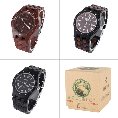 Image of Luminous Wood Watches - Jewelry & Watches / Men's Watches / Quartz Watches