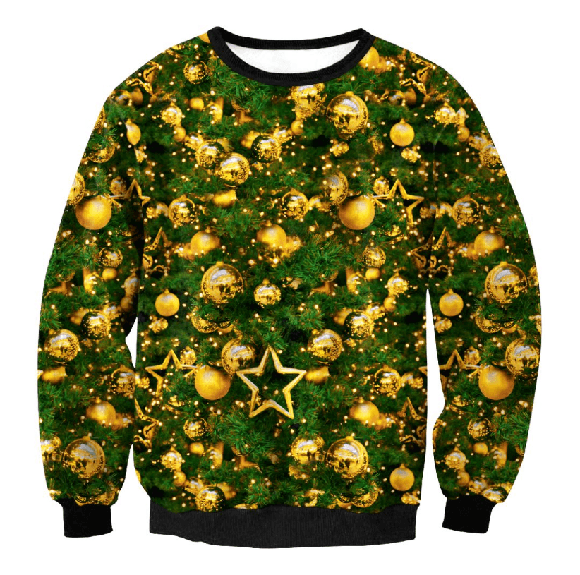Ugly Christmas Sweater For Men Women - Women's Clothing / Tops & Sets / Hoodies & Sweatshirts
